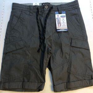 NWT Levi's Denizen Cargo Shorts Gray Size 32